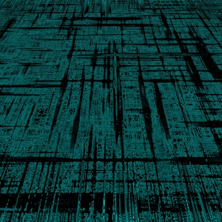 Digital abstract background,green blocks photo