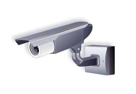 spy camera: illustration of spy camera