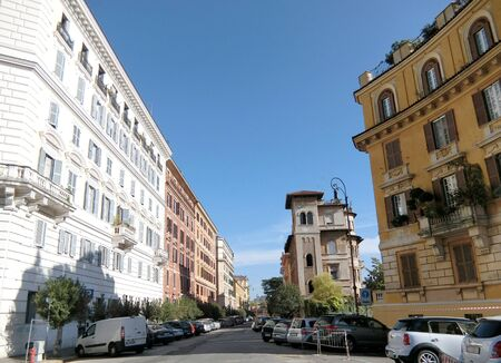 street corner: Street corner of Rome