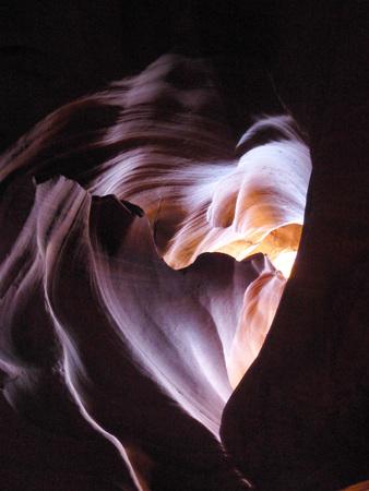 lower antelope: Antelope Canyon, Heart