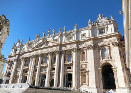 peters: St. Peters Basilica Stock Photo
