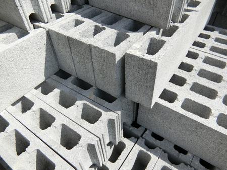 Concrete Blocks Standard-Bild