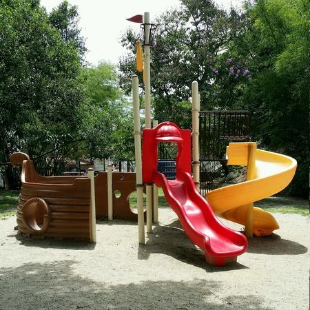 caracas: Childrens playground in Caracas. Stock Photo