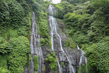 Amazing Banyumala waterfall, Bali, Indonesia Natural concept