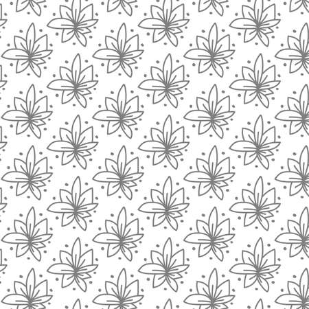 Floral pattern. Imitation of lace fabric. Suitable for packaging and application on textiles.