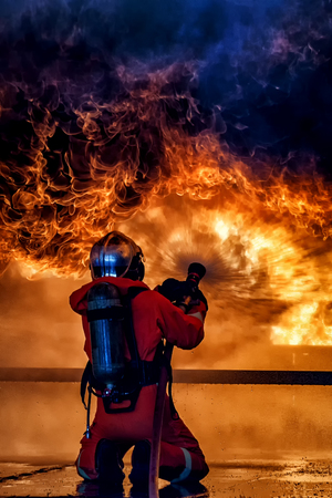 Firefighter training, The Employees Annual training Fire fighting