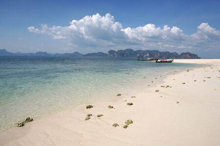 krabi: idilliaco vista della isola in Krabi, Thailandia  Archivio Fotografico