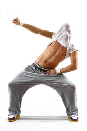 dancing man photo