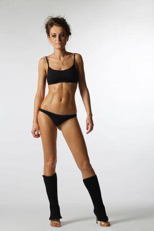 Girls bikini dancer