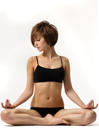 conscious: yoga girl