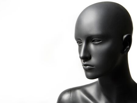 beautiful mannequin standing alone on the light white background Stock Photo - 3038895
