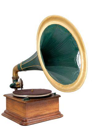 retro vinyl player photo