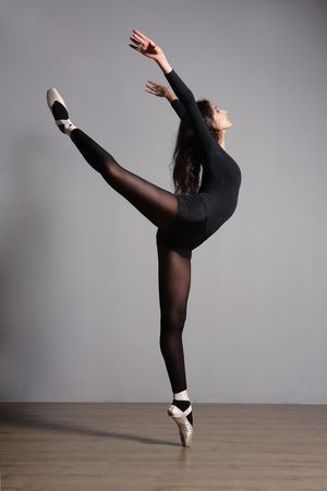 ballet cl�sico: bailar�n posando
