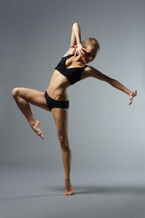 performers: ballet dancer posing