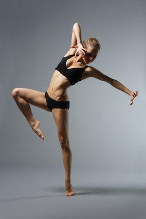 performer: ballet dancer posing