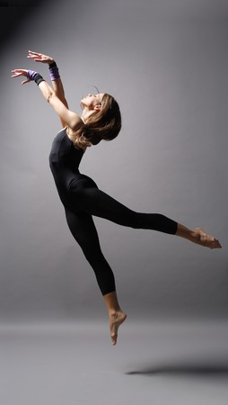 young modern style dancer posing Stock Photo - 4189857
