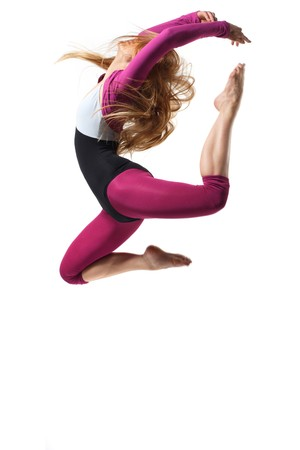 stylish and young modern style dancer is posing Stock Photo - 4306810