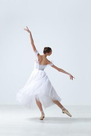 modern style dancer posing on studio background Stock Photo - 7718815