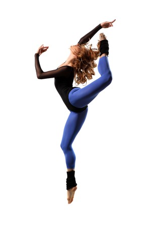 modern style dancer posing on studio background Stock Photo - 7718763
