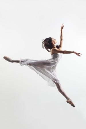 modern style dancer posing on studio background Stock Photo - 7718809