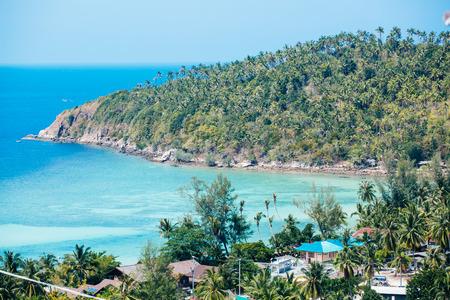 phangan: idyllic view of ilsand Koh Phangan, thailand Stock Photo