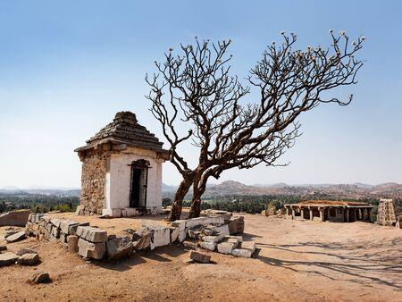 karnataka culture: Stone temple of Hampi town