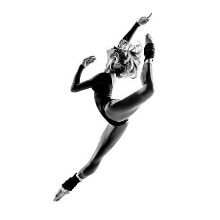 Ballerina posing Stockfoto