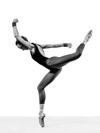 Ballerina posing Banco de Imagens