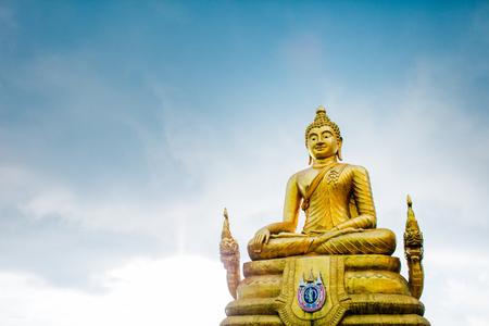 Buddha. Phuket island. Thailand. Stock Photo