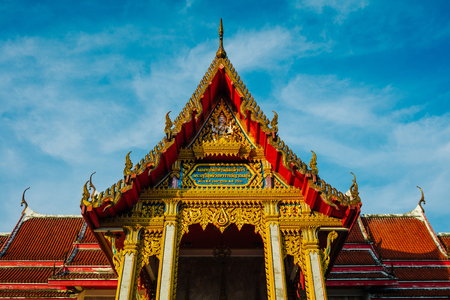 Wat Chalong is the main temple of Phuket Stock Photo