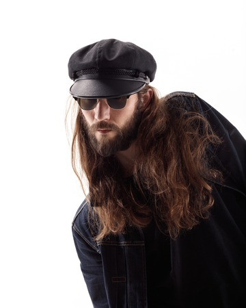 Young male with sunglasses and beard