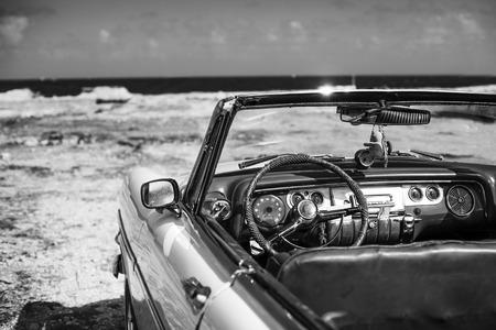 old auto in cuba Archivio Fotografico - 119194660