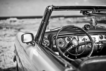 old auto in cuba