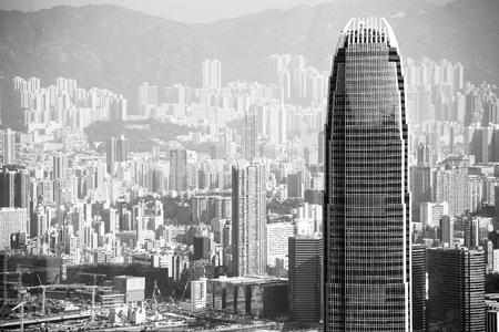 Chineese city Hongkong Stock Photo