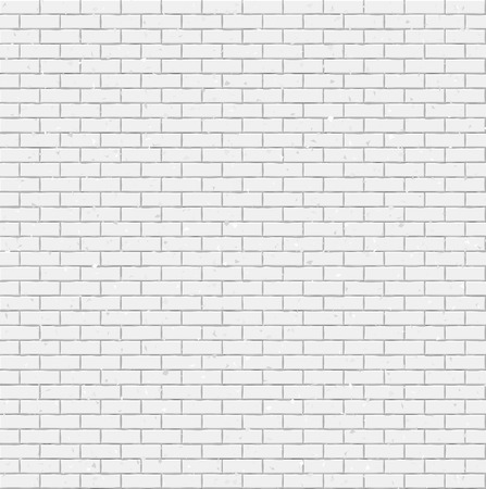 Grunge brick wall texture seamless geometric pattern of bricks Ilustrace