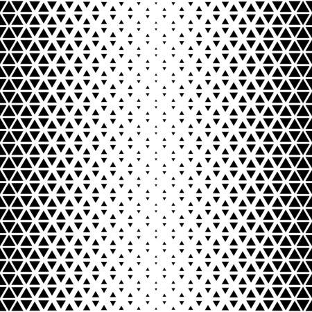 Abstract triangular background. Black white geometric pattern.