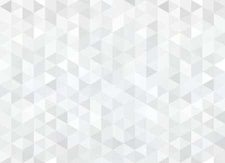 Abstract pattern of geometric shapes. Seamless gray rhombuses mosaic.