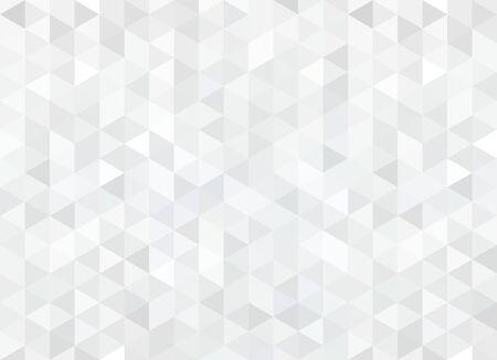 Modello astratto di forme geometriche. Mosaico di rombi grigi senza soluzione di continuità.