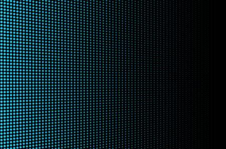 High-tech halftone dots background. Blue  LED video screen Illusztráció