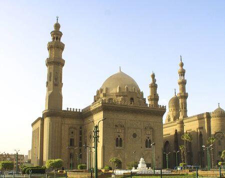 Mosque-Madrassa of Sultan Hassan. Old mosque Cairo