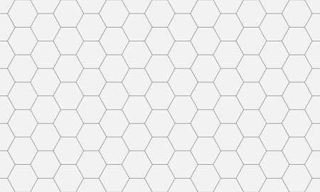 Hexagon seamless pattern. Abstract hexagonal background.