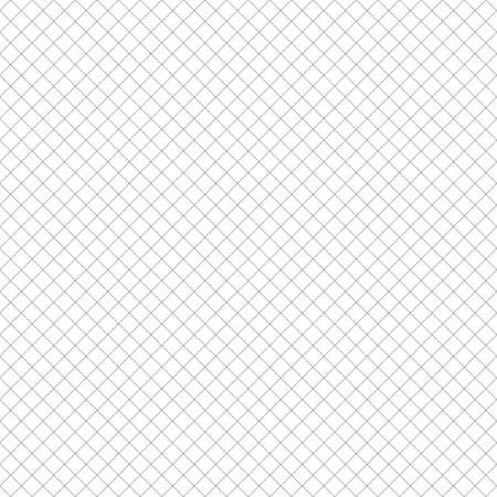 Square grid seamless pattern. Hexagonal geometric background. Diagonal cross lines. Illustration