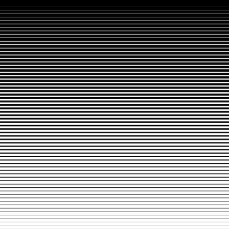 Halftone lines background. Horizontal lines with a gradient effect.