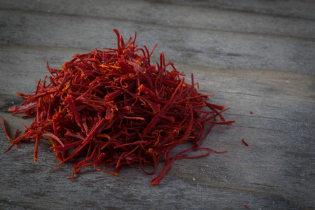 Pile of Persian Saffron