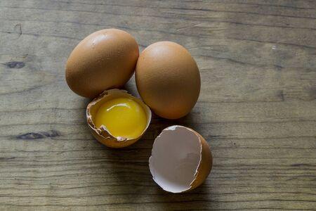 브라운 Pastured 달걀