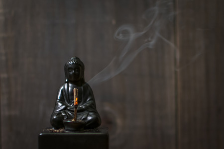 Smoking Buddha Incense holder