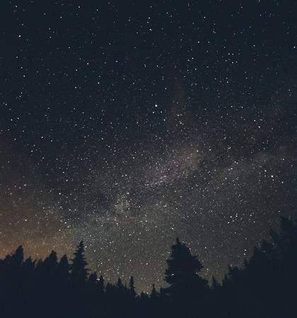 Milky Way and Stars over Breckenridge Colorado