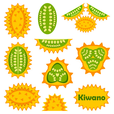 with sets of elements: Kiwano