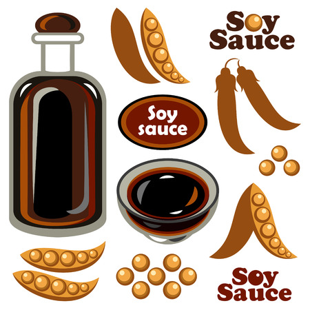 soy sauce: Soy sauce