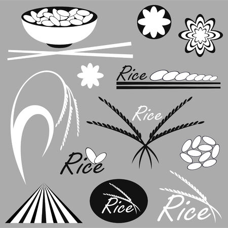 with sets of elements: Rice